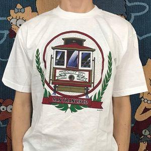 Other - Vintage San Francisco Trolley Shirt California Tee